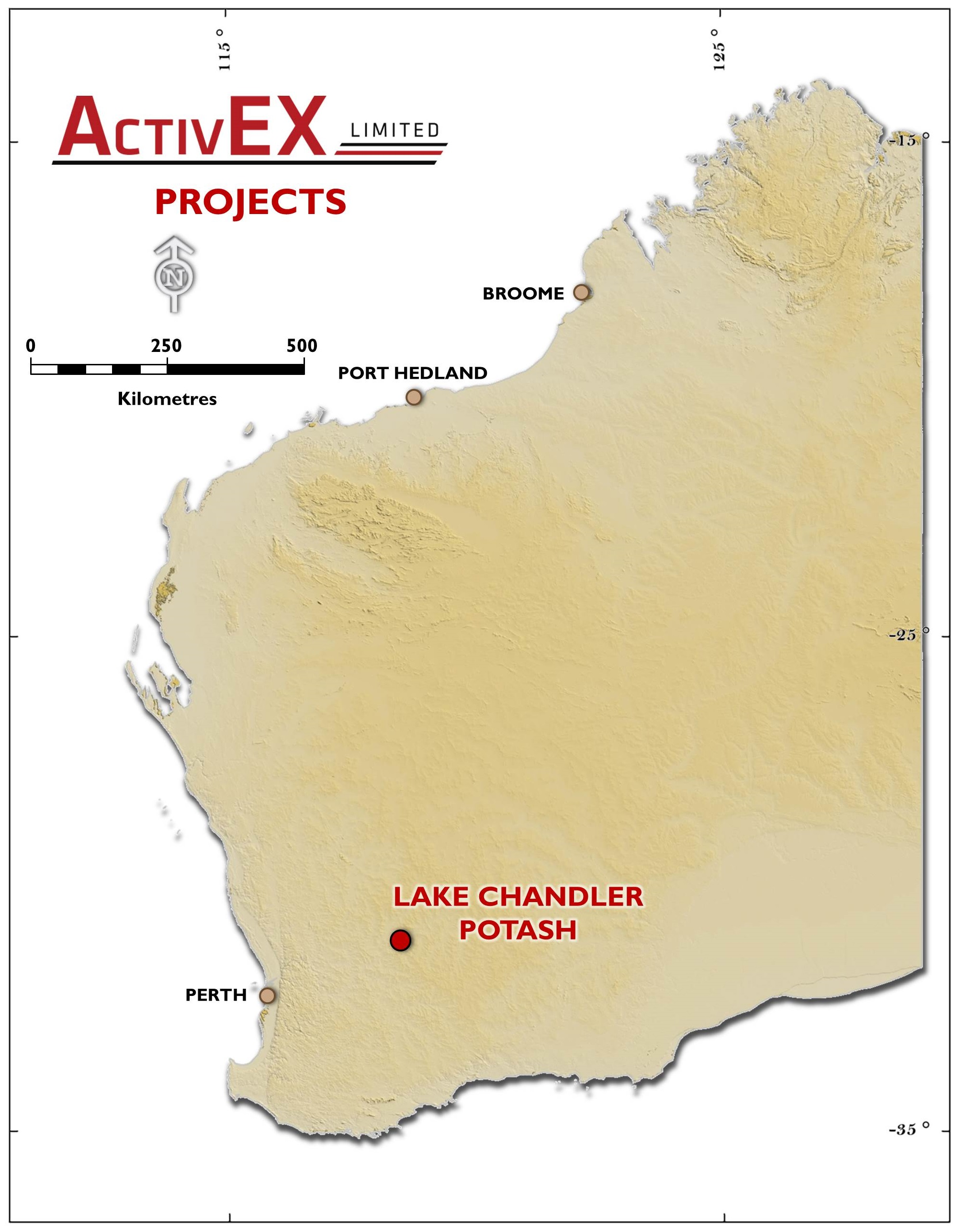 LAKE CHANDLER POTASH | ActivEX Limited